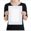 9. Matte Paper Framed Print with Mat